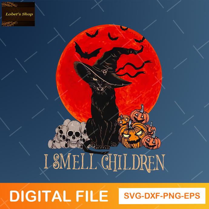 I Smell Children SVG,Halloween Svg , Hocus Pocus Svg