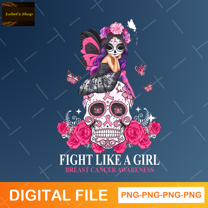 Fight Like A Girl Png , Breast Cancer Awareness Png
