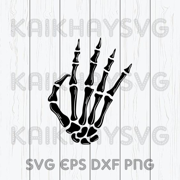 Skeleton Peace Sign SVG, Halloween 2020 , Halloween Cricut, SVG, EPS, DXF, JPG,
