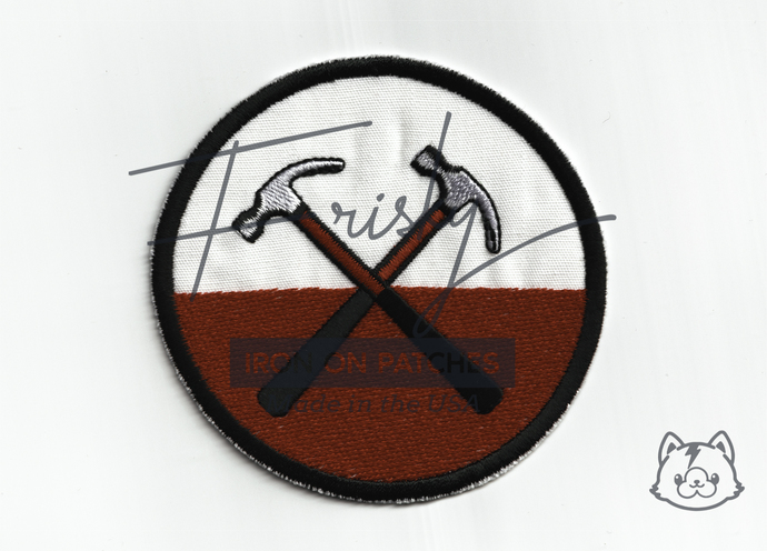Pink Floyd Hammers Iron On Patch