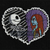 NBC Sally and Jack Embroidered Iron On Patch