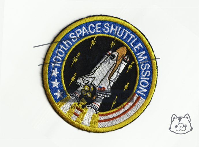 NASA Space Shuttle Mission  Iron On Patch