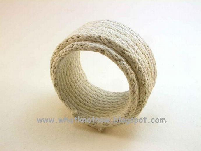 tube bracelet white cotton cord bracelet rope bracelet soft bangle bracelet