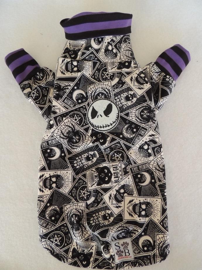 MEDIUM Halloween Flannel Dog Shirt