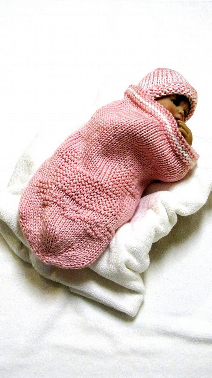Knitting Pattern BABY COCOON - 4 for $21.99, | ezcareknits