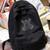 KBA Shield Black Canvas Backpack