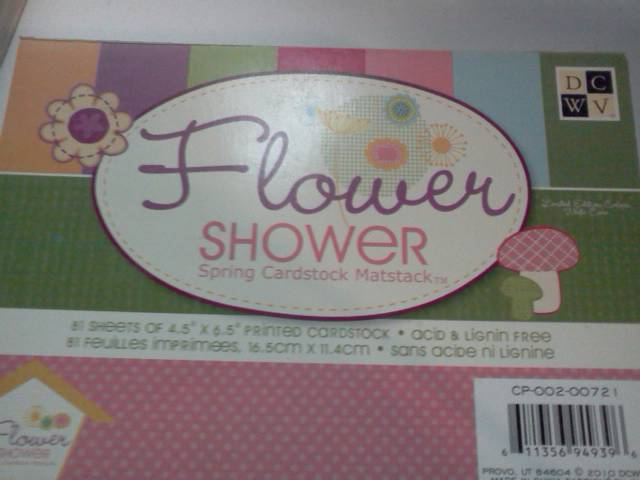 Flower Shower 4.5x6.5 paper*