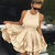 A-Line  Straps  Homecoming Dress with Ruffles,