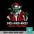 Yoda hohoho merry christgmas svg, Christmas svg, png, dxf, eps digital file