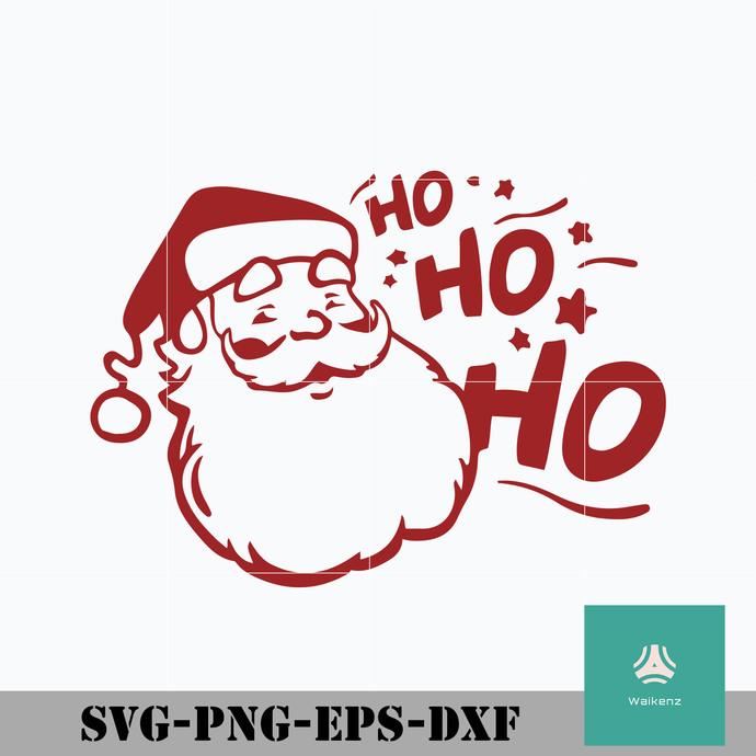 Ho ho ho Santa Claus svg, Christmas svg, png, dxf, eps digital file CRMAS0114