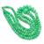 Chrysoprase Polished  Beads,Chrysoprase Roundelle Beads,Green Chrysoprase