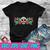 Happy Sugar Skull Dia De Muertos Day Of The Dead SVG , EPS , DXF , PNG DIGITAL