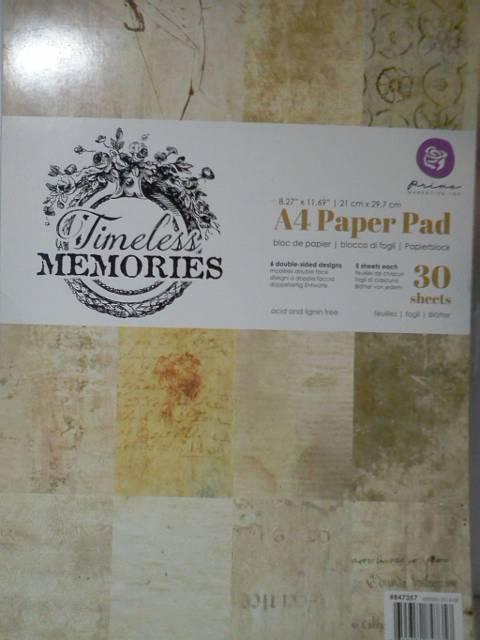 "Prima 8.5""x11"" paper Timeless Memories*"