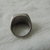 vintage stainless steel masons ring sz.8