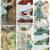 Vintage Women's Fashion Cards Cut Apart Sheets Junk Journal ATC Cards