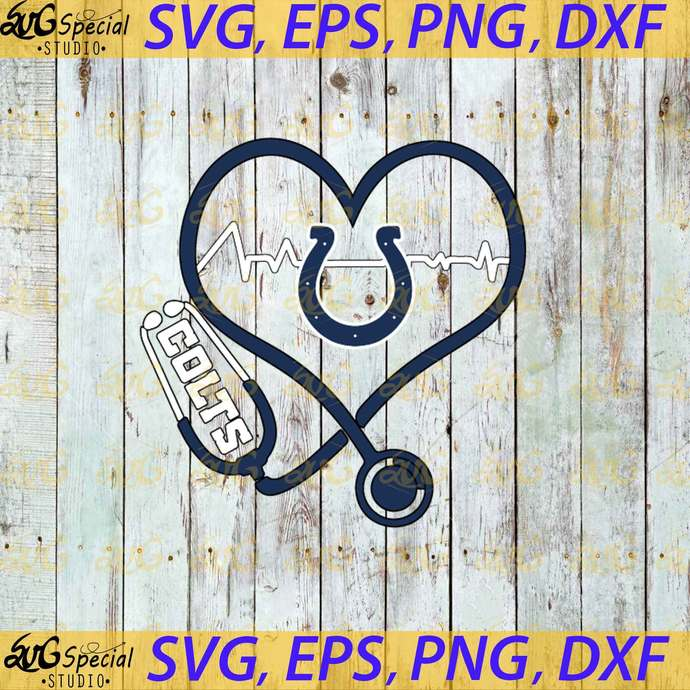 Indianapolis Colts Nurse Love Svg New Orleans By Svgland Ss On Zibbet