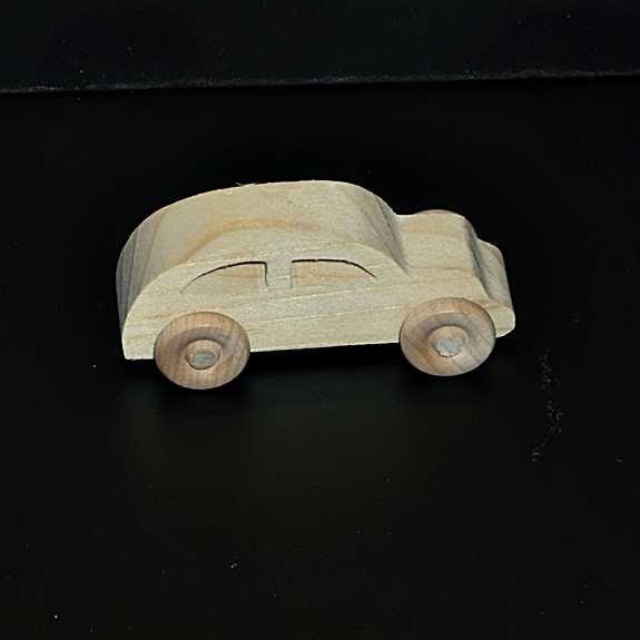 Birthday Party Pack  10 Handcrafted Wood Toy Cars BP-1-59AAH-U unfinished or
