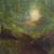 "Forest path original acrylic landscape art by Dawn Blair ""Enchanted Forest"""