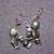 Freshwater Pearl Memory Wire Earrings