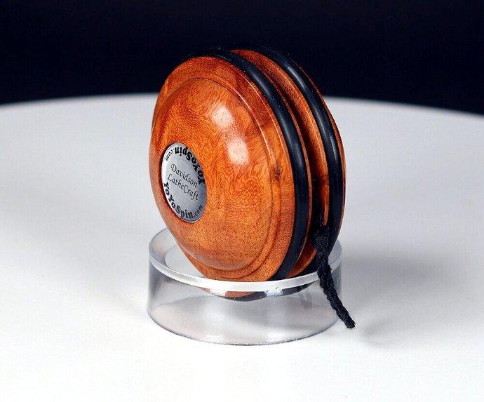 Handmade Satellite Yo-Yo ... Rare & Exotic Afzelia Burl
