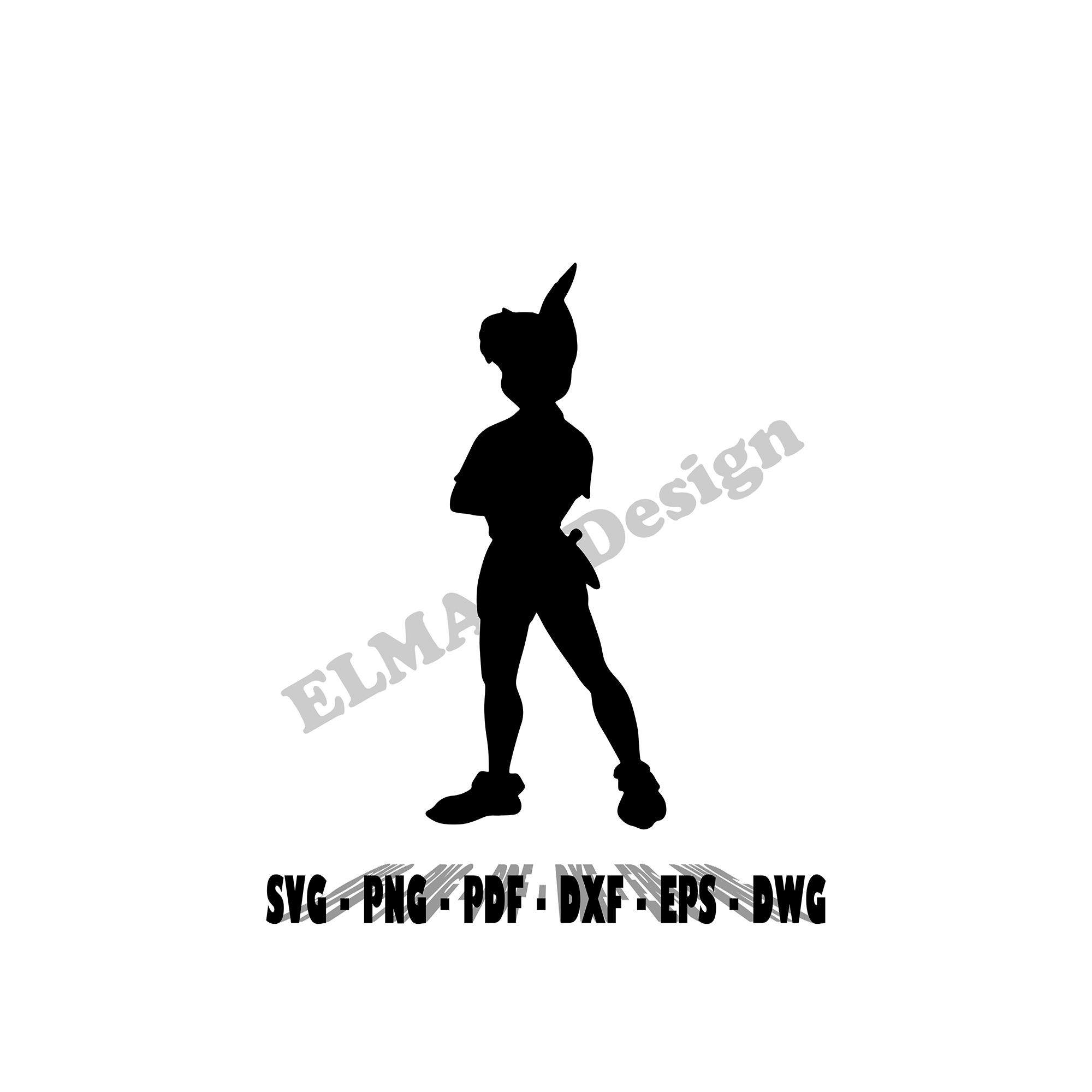 Disney the little Mermaid cartoons stencil profile 5 formats stencils digital svg dwg dxf png pdf Silhouette cut cutting files sewing sing