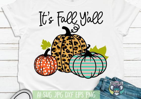 Happy Fall Y All Svg Pumpkin Svg By Halloween Shop 2020 On Zibbet