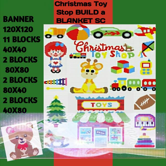Toy Shop Bundle SC includes graph with color block instructions
