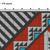 #576 Native american Folk ethnic Modern Cross Stitch Pattern, pillow counted