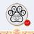 Pet Memorial Paw print    Digital Download   CUSTOM MADE Cross Stitch Pattern  