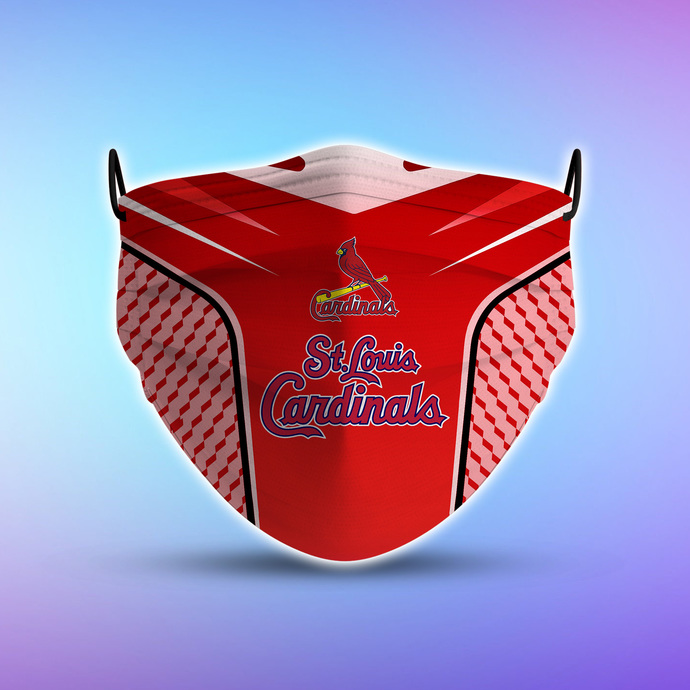 St. Louis Cardinals Style 5 face Mask Washable, Adjustable, Reusable Face Mask