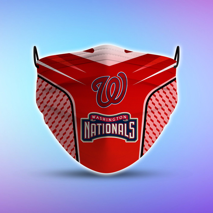 Washington Nationals Style 5 face Mask Washable, Adjustable, Reusable Face Mask