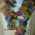 Halloween Colors Ruffled Scarf Free Shipping