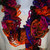 Fall Colors Ruffled Scarf Free Shipping