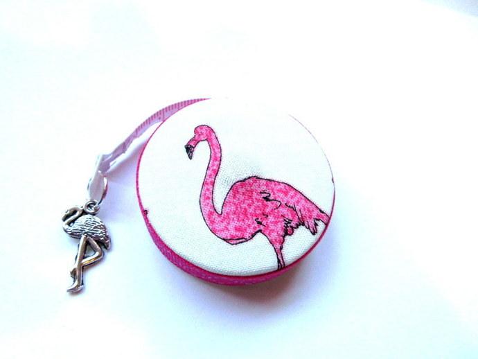Tape Measure Flamingo Bird Small Retractable Measuring Tape