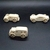 Pkg of  3 Handcrafted Wood Toy Cars and Bus   OT-83 -3-AAH-U    unfinished or