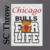 Chicago Bulls For Life SC Throw, Graph, Written Instructions with color coded