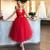 vestido de graduacion red prom dresses short lace applique sleeveless cheap