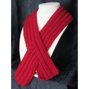 Seasonal-Winter Chill/ Keyhole scarf