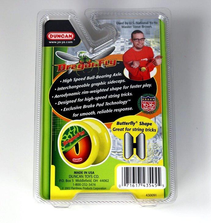 New/Mint In Original Package - Vintage Duncan DragonFly Yo-Yo