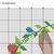 #573 Baby bunny animals Modern Cross Stitch Pattern bunny in a flower wreath