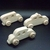 3 Handcrafted Wood Cars and Taxi  OT-69-3-BH Unfinished or Finished
