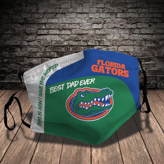 Florida Gators Style 7 face Mask Washable, Adjustable, Reusable Face Mask