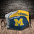 Michigan Wolverines Style 7 face Mask Washable, Adjustable, Reusable Face Mask