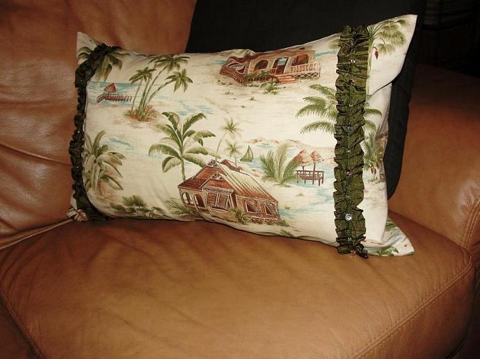 Custom sized pillow insert