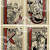 ABCs Vintage Picture Cut Apart Cards Full Sheets 4 per sheet