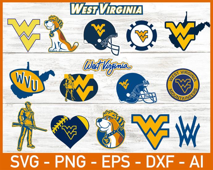West Virginia Mountaineers, West Virginia Mountaineers SVG, West Virginia