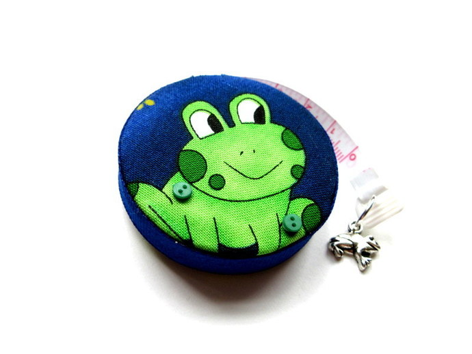 Tape Measure Big Eye Frogs Small Retractable Measuring Tape