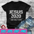 Jesus 2020 Christian Election Year President Our Only Hope SVG , EPS , DXF , PNG