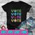 Vote For Mother Earth Global Warming SVG , EPS , DXF , PNG DIGITAL DOWNLOAD