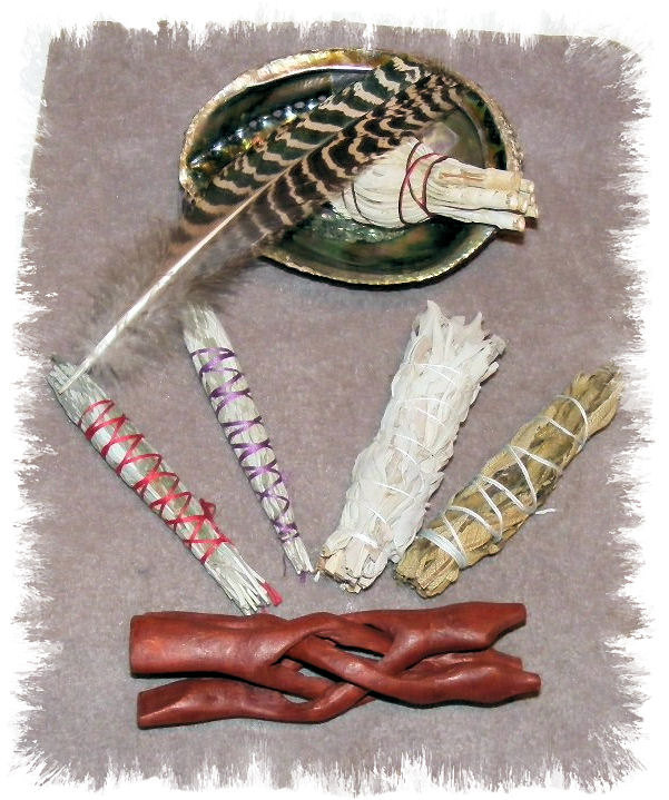 Cleansing Smudge kit